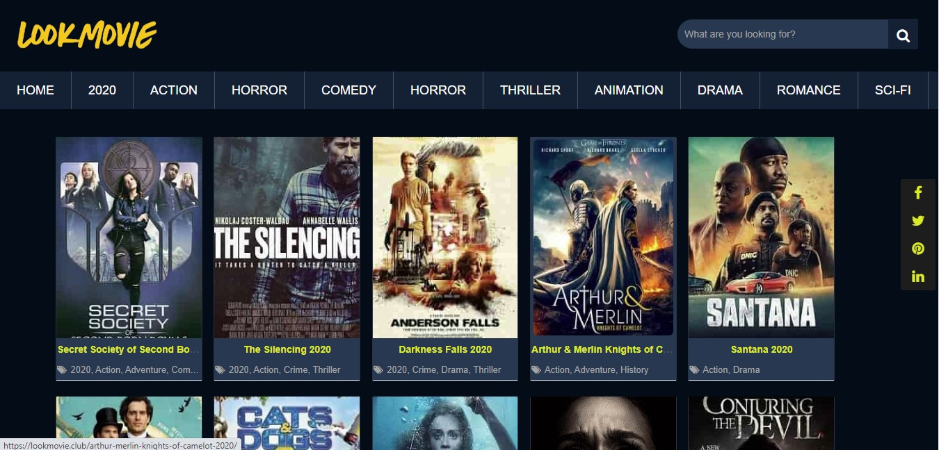 LookMovie: Best Sites To Stream Movies Online Without Registration For Free